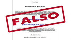 Email falso